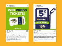 MAPCO Social Media - Preds Fan Fuel