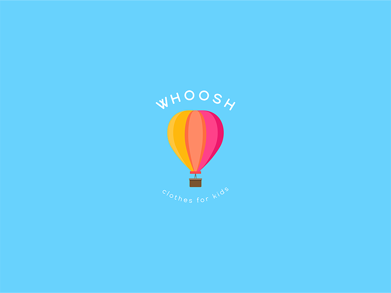 03 | Daily Logo Series colorful hot air balloon illustration flat clean branding icon minimal simple logotype daily logo