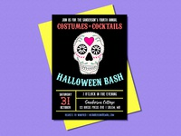 Halloween Invitations - Sanderson Costumes & Cocktails