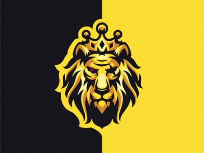 lion kings esports angry king lion king lion e-sport esport sport mascot character brand logo