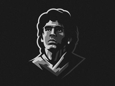 RIP Maradona esports angry e-sport esport sport mascot character brand logo diego maradona maradona