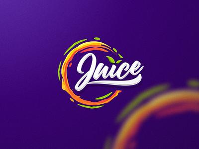 juice typography app icon ux vector branding design illustration ui logo juices juice