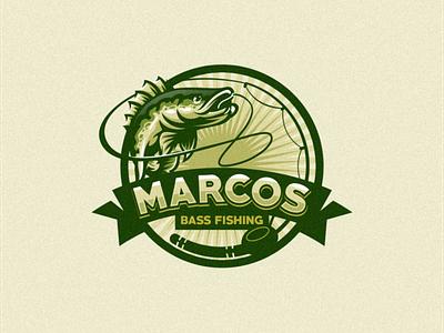 Bass Fishing esports angry e-sport esport sport mascot character brand logo fishing logo fishing bass