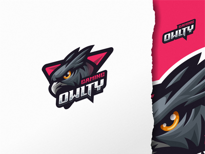 Owlty Gaming ui illustration design e-sport esport sport mascot character brand logo gaming owl