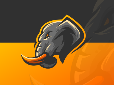 Elephant e-sport logo sport elephant logo sport logo logo esport elephant