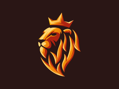 Lion King sport e-sports e-sport king lion king esport logo esport lion