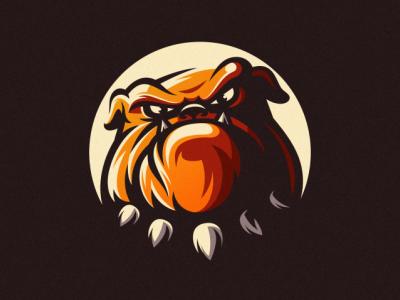 Bulldog e-sport logo sport bulldog logo sport logo logo esport bulldog