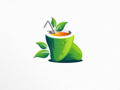 Mango mango juice logo