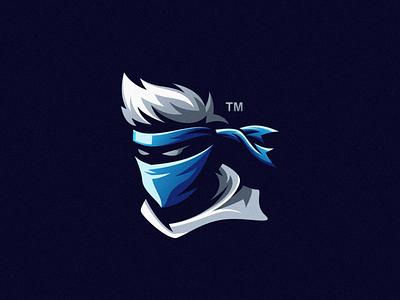 Ninja ninja character mascot brand logo