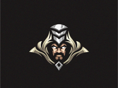 AlahEmbuh man logo esport gaming e-sports esports shield angry e-sport esport sport character mascot brand logo