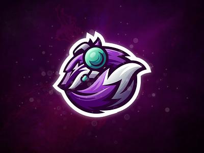 Wolfoxy badge logo esport gaming e-sports esports shield angry e-sport esport sport character mascot brand logo fox logo wolf fox