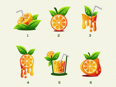 Orange Fruit brand logo mango juice fruit orange