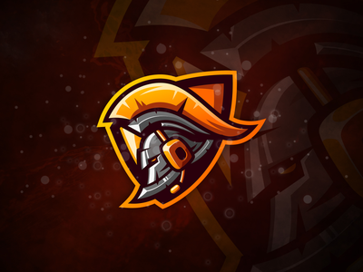 Gladiator gladiator cute badge logo esport e-sports esports shield angry e-sport esport sport mascot character brand logo