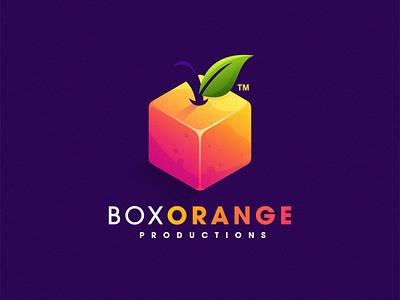 Box Orange esports angry e-sport esport sport mascot character brand logo orange box