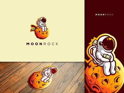 moonrock e-sports shield esports angry e-sport esport sport mascot character brand logo moon
