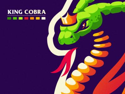 king cobra esports angry e-sport esport sport mascot character brand logo king cobra cobra