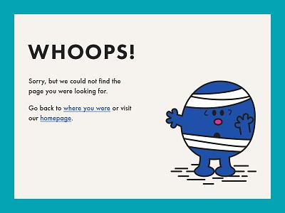 404 Page illustration web ui daily ui dailyui 404