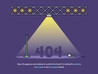 404 — Empty Stage