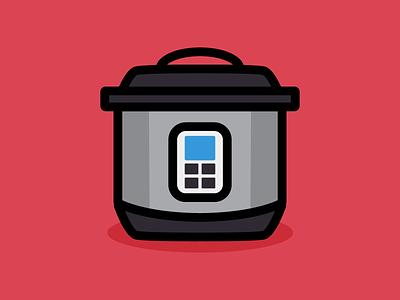 Instant Pot vector illustrator design illustration