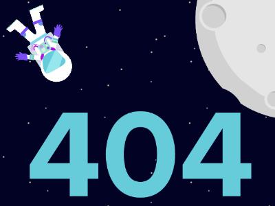 Personal Website 404 Page 404 error not found 404 not found astronaut space error 404