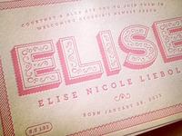 Elise Nicole Liebold