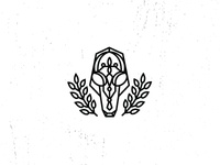 Pyrography Skull Logo