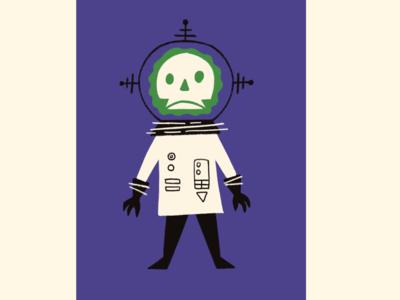Ghoul Astronaut