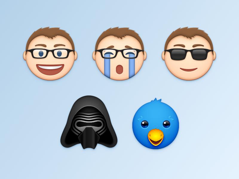 Emoji kylo ren ollie sketch emoji