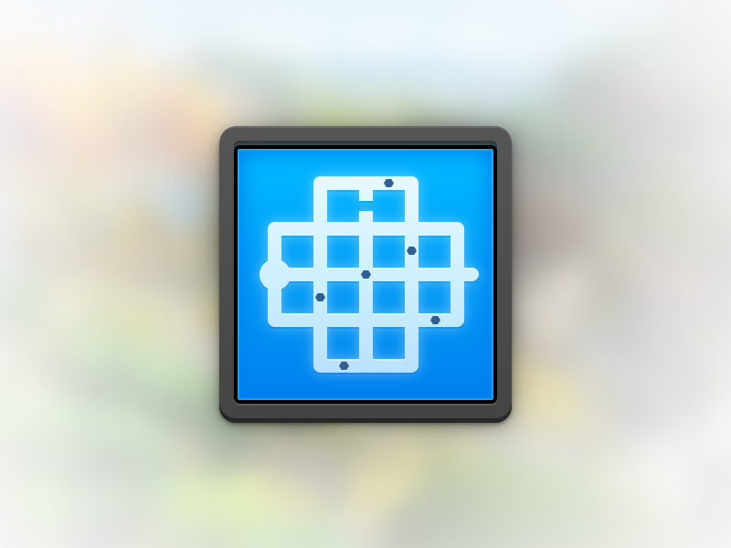 The Witness mac icon replacement the witness