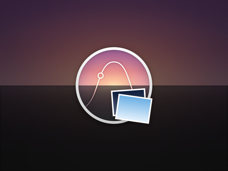 Azimuth dark mode dynamic wallpaper mojave mac icon