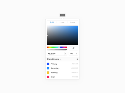 Shared Colors colors shared colors framer app animation