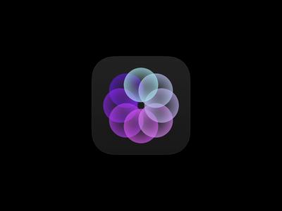 Radial Gradients framer radial gradients rosace app animation