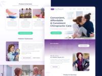 Pure Chiropractic Website