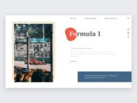 UI Card – F1