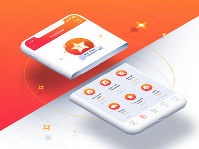 Level up! iteoteam iteo level iphone x ios icons gamification game app split