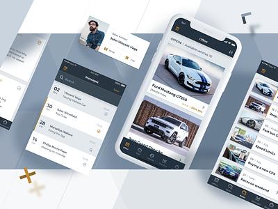 Autoplus Case Study dashboard iteo portfolio behance case study vehicle car ux ui app