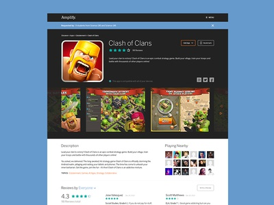 App Detail Page