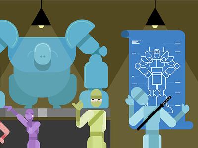 According to Plan 9 waterfall scrum failure project engineer facepalm blueprint plan robot ninja