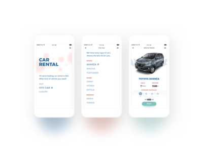 Rental Car Mobile App