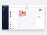 Pixelvision Chat page