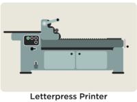 Letterpress printer