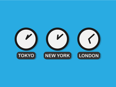World Time Wall Clocks
