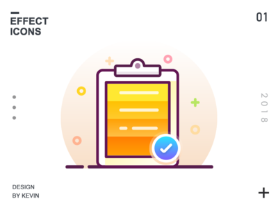 Effect icon of selection