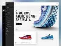 Muzli Inspired E-commerce Concept