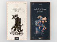 James Jean Gallery Cards