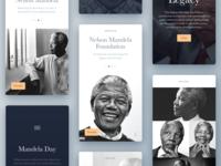 Nelson Mandela Tribute Cards