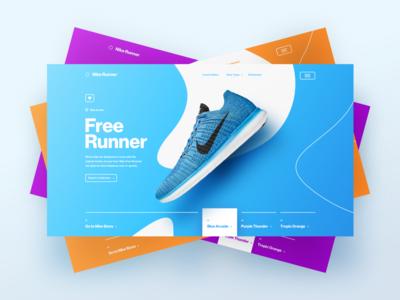 Free Runner Art Direction