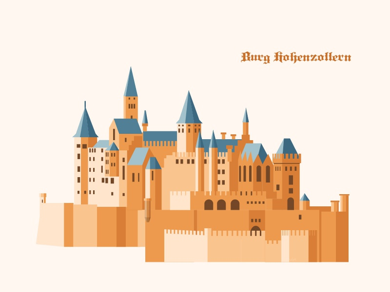 Burg Hohenzollern By Kevin On Dribbble