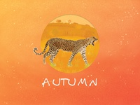 Autumn - leopard