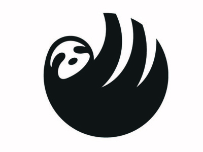 Sloth Logo logo design logo vector art illustrator